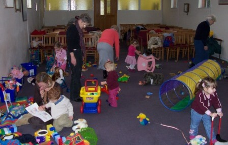 urchins toddler group